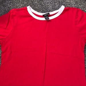 Rue 21 Red Crop Top